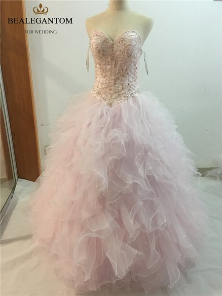 2017 Sexy Fashion Sweetheart Crystal Ball Gown Quinceanera Dresses with Sequined Beading Tulle Sweet 16 Dresses Vestido Debutante Gowns BQ26 Quinceanera Dresses Beaded Crystals Cheap Quinceanera Gowns Vestidos De 15 Anos dresses , Sweet 15 16 Dresses history of quinceanera, formal dresses for juniors