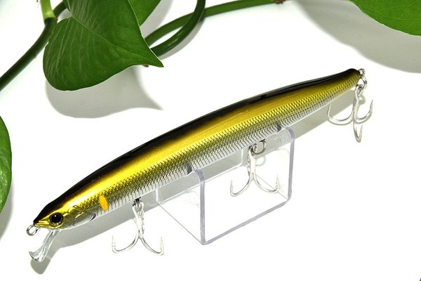 10 unids de Minnow Fishing Sea Bait 15 cm 24g Big Game Artificial Swimbait Topwater Señuelos de Pesca Accesorios de Pesca Anzuelos