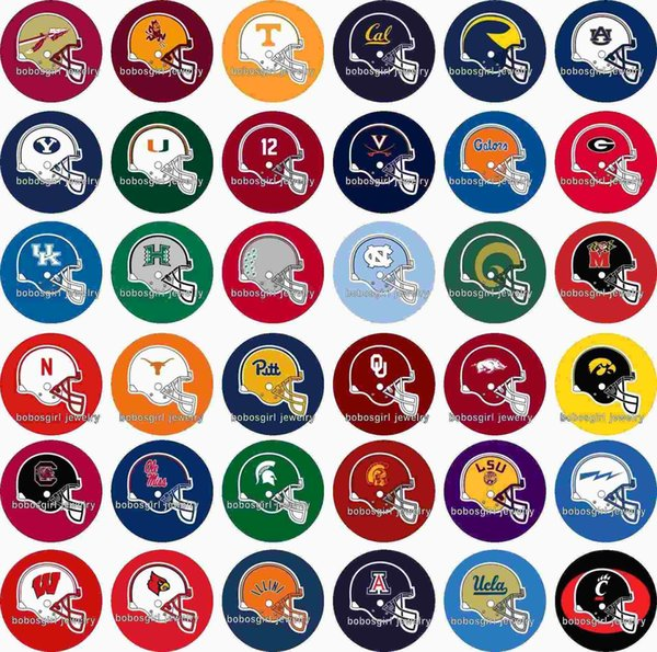Free shipping 2016 NEW Sport FOOTBALL 36pcs / lot snap button jewelry charm popper for bracelet GL388 jewelry making