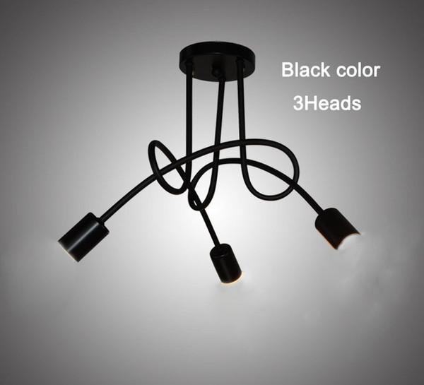 3 Têtes de couleur Noire