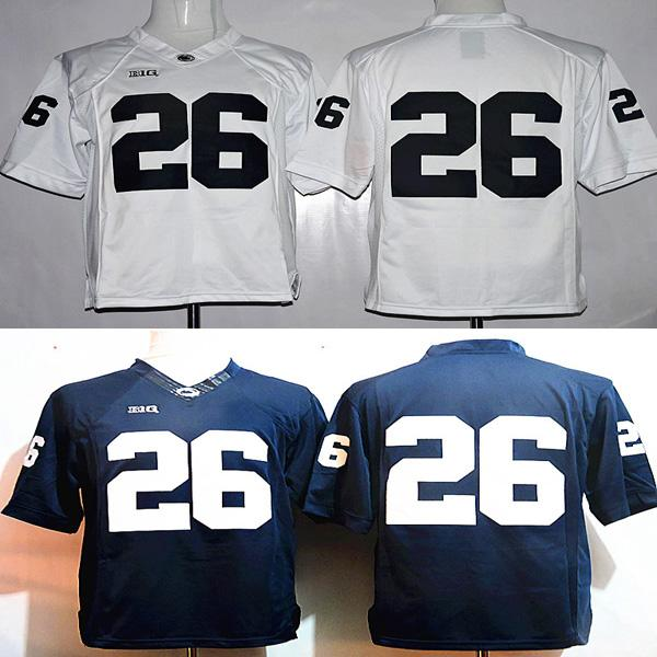designer fashion 0cc41 1aa61 2019 Youth 26 Saquon Barkley College Penn State Jerseys White Navy Blue  Kids Boys Size Football Stitched With Name On Back From Myron Wang, $16.26  | ...