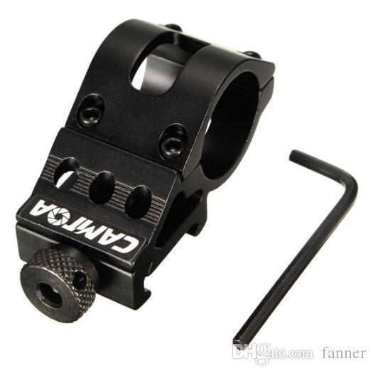 25mm Ring Tactical Scope Sight Flashlight Torch Laser Mounts+Allen Key for 20mm Standard Picatinny/Weaver Rail