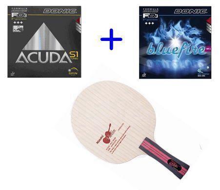 NITTAKU Violin Table tennis bat pingpong blade/Yasaka rakza7(Mark V, M2) Donic F1, S1 rubber for table tennis racket / racquet / bats