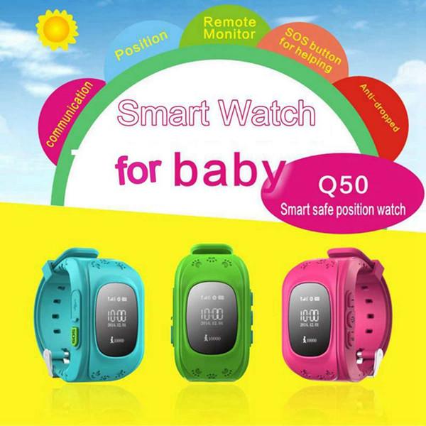 ITSYH Original Smart Watchphone Q50 for children GPS Kid's Location Tracker SOS Call Children Passometer sleep monitor SIM Card TW-402