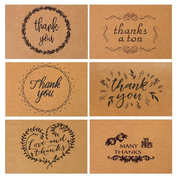 Best greeting cards coupons promo codes deals 2018 get cheap 1510cm vintage kraft paper thank you card with envelope for thanksgiving greeting card best happy birthday m4hsunfo