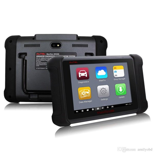 """AUTEL MaxiSys MS906 8"""" Android 4.0 WIFI Auto Diagnostic Scanner Next Generation of Autel MaxiDAS DS708 Online Update MS906"""