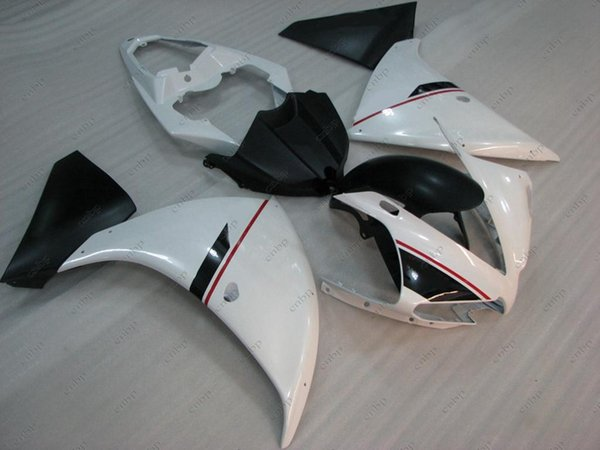 Body Kits YZF1000 R1 12 13 Fairing Kits for YAMAHA YZFR1 13 14 White Black Full Body Kits YZFR1 2014 2012 - 2014