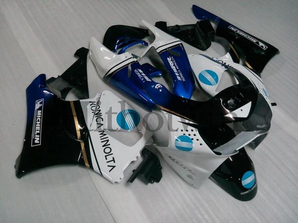 Body Kit blue black white ABS Fairing For honda CBR919RR 1998-1999 CBR900 919RR 98-99 Aftermarket Motorcycle