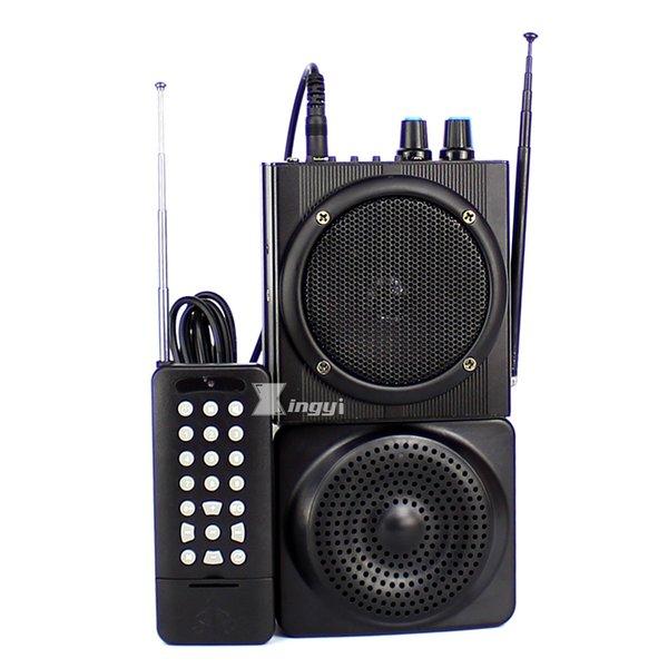 48W 500m Wireless Remote Control Trap Digital Hunting Bird Caller Dual Mini Speaker USB MP3 Player Hunt Pigeon Decoy Duck Call Device
