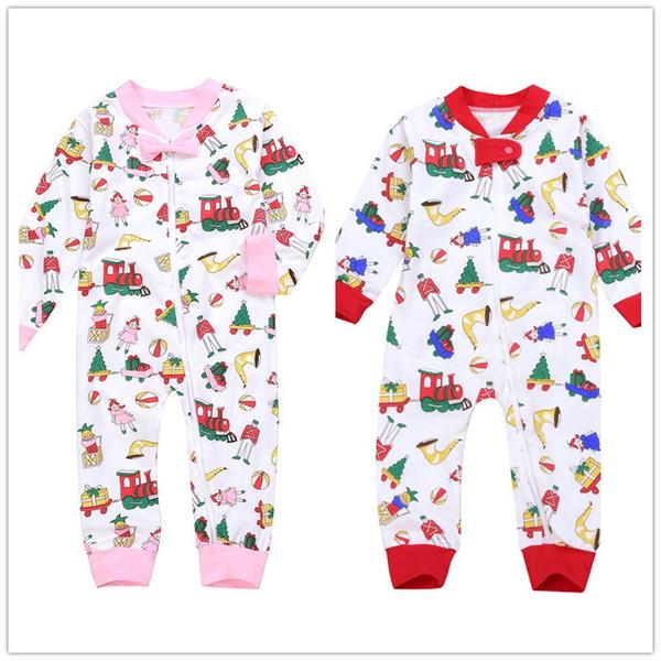 2018 Mikrdoo 2018 Baby Boy Girl Christmas Clothes Kids Newborn Santa
