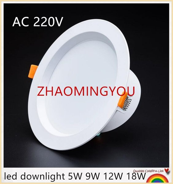 YON 20PCS LED Downlight 5W 9W 12W 18W AC 220V Surface Mounted Wall Spot light led for home Kitchen Bathroom Decor