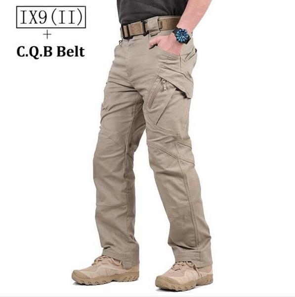 2017 TAD IX9 (II) Militar Tactical Cargo Pantalones al aire libre Hombres Combate Senderismo Entrenamiento del ejército Pantalones del ejército Caza Aire libre Pantalones deportivos