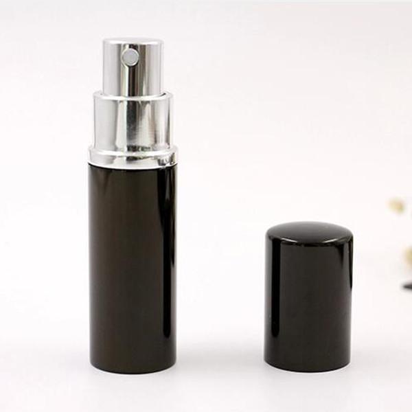 top popular Black 10CC 10ML 10 ML Mini Portable Spray Bottle Empty Perfume Bottle Refillable Perfume Atomizer Spray Travel Accessories 2021
