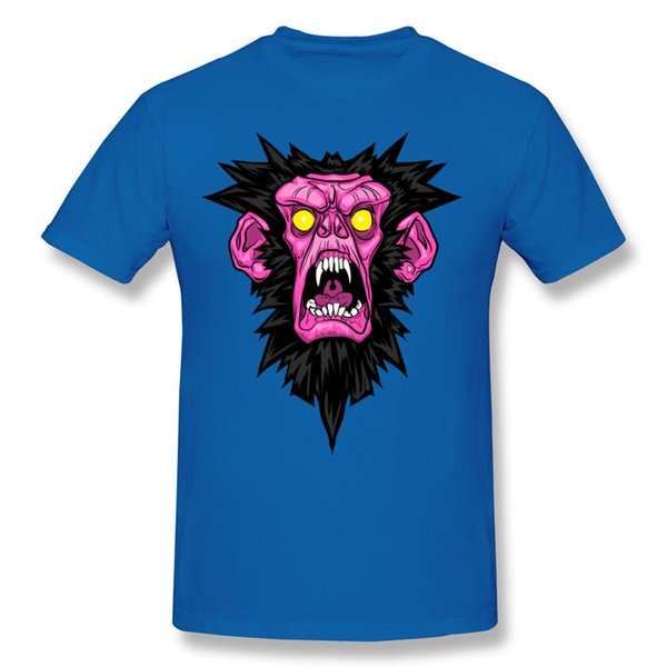 Monkey Rage O Neck Tee Shirts red mens short t Shirt Men Cotton T Shirt support large quantity sell.