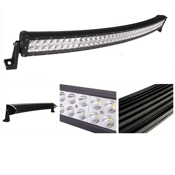 """42"""" 240W Curved LED Working Driving Light Bar for Boat Off Road 4x4WD Fog Lamp Car Jeep Truck Tractor Spot Flood Combo Beam SUV ATV UTE Ford"""