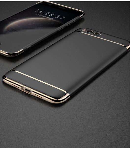 Custodia per Xiaomi mi6 Custodia Cover Glitter Luxury 3 In 1 Protettiva Armatura Caps Indietro PC Custodia rigida per Xiaomi mi 6 Plus