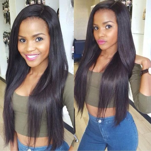 Brazilian Virgin Hair Brazilian Straight Human Soft Hair Extension Weft Brazilian Cheap Remy Human Hair Weaves Natural Color by Cosy