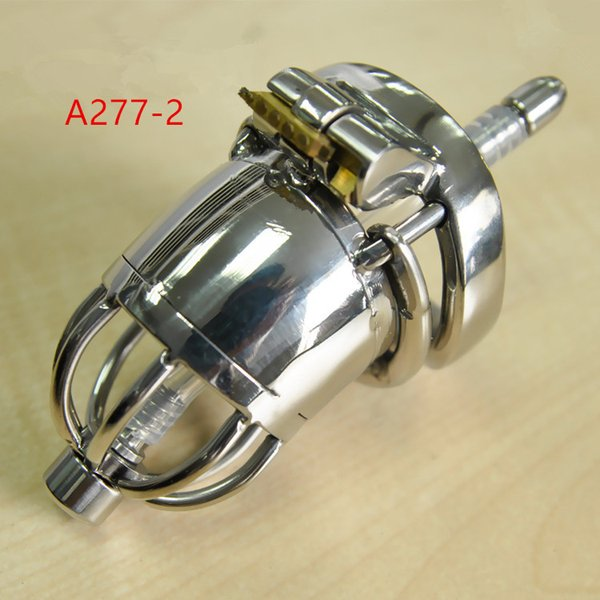 adult sex toys for men 304 stainless steel penis cage male chastity device anti slip ring urethral catheter ARC Snap Ring XCXA277-2