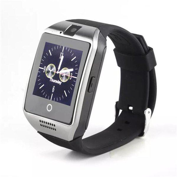 New Q18 Passometer Smart watch with Touch Screen Camera TF card Bluetooth smartwatch For Android/IOS Mobile Phone