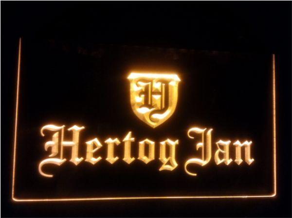 best selling b-152 Hertog Jan Bar Holland Beer Plastic Crafts LED Neon Signhome decor shop crafts