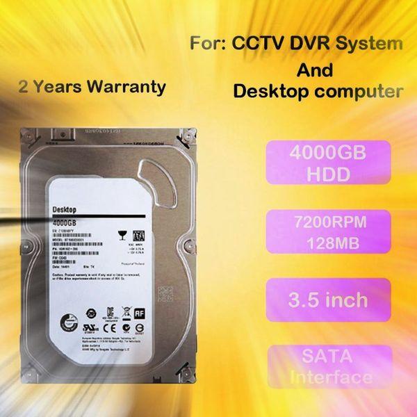 "LLLOFAM 3.5"" 4TB SAS 6Gb/s 7.2K RPM 128M HDD 4000GB Desktop SATA 3.5Inch Internal hard drive for CCTV Camera DVR recording videos"