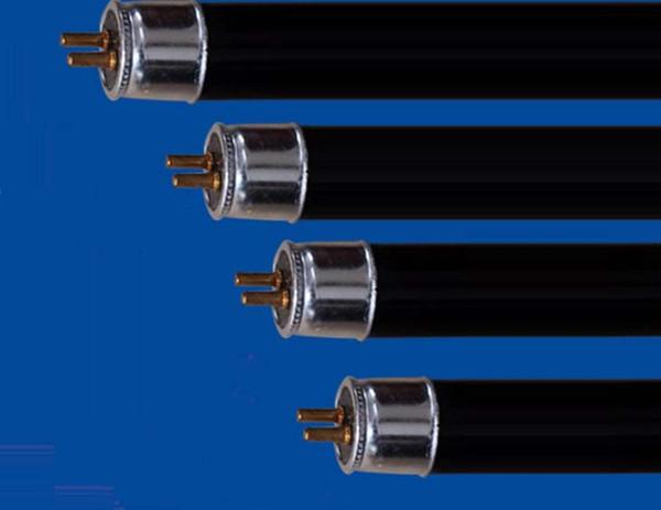 Atacado-Frete grátis T5 4W 6W 8W de poupança de energia luz negra azul tubo reto, 365nm UVA luz, BLB, luz roxa