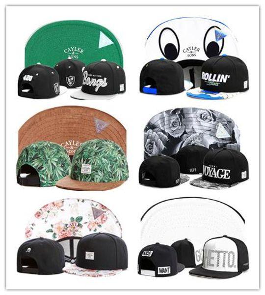 best quality Cayler & Sons Snapback caps Casquette bone Golf outdoor sun hat hats for men fashion Retro Camo Baseball Cap