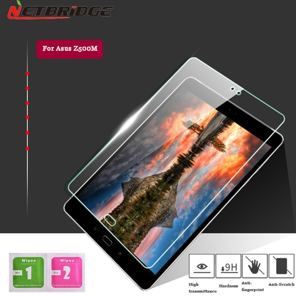 Wholesale-For Asus ZenPad 3S 10 Z500M Tablet Tempered Glass Screen Protector 9.7 Inch 2.5D 9H Transparent Glass Film