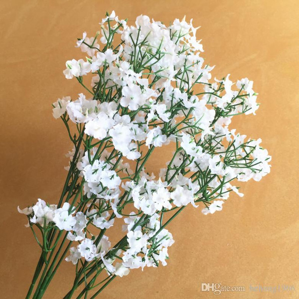Artificial Silk Flower Fake Baby Breath Simulation Lifelike Plant Home Wedding Party Outdoor Picnic Decor Hot Sale 0 66pn R