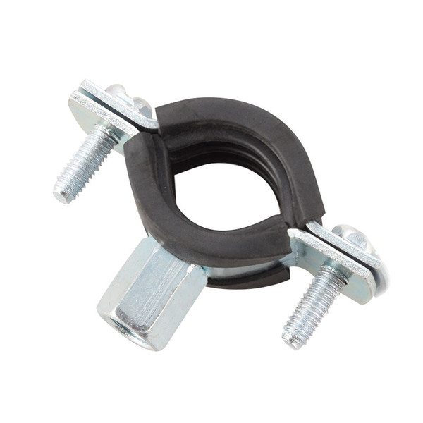 4x 20-25mm Spring Clip Fuel Line Hose Water Pipe Clamps with Rubber Air Tube Fastener HS574+