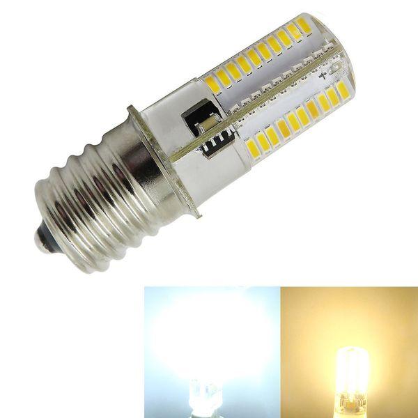 E17 C9 Microwave oven refrigerator Intermediate 80-3014SMD LED Light bulb Dimmable Ceiling Fan Light White/Warm 120V 220V (pack of 10)