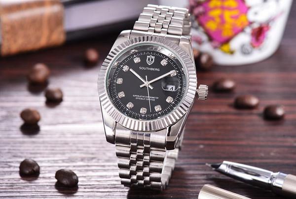 best selling 2019 Hot Men Women Quartz Stainless Steel bands Watch Wristwatch Watch Mens Clock Women Watches face 40MM