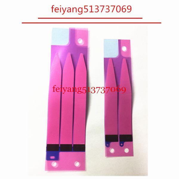 50 pcs 100% nova bateria adesivo adesivo de cola fita tira guia substituição parte para iphone 5 5s 5c 6 6 s 7 além de