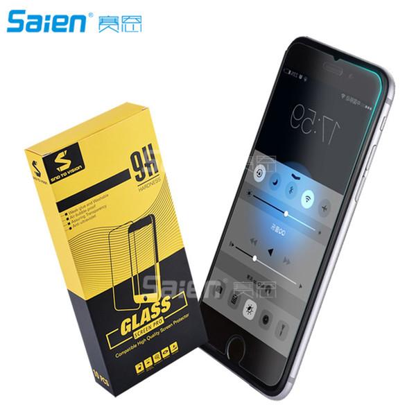 [Gehärtetes Glas] Displayschutzfolie für iPhone 6 / 6s / 7 4,7 Zoll Höchste Qualität Einfache Installation [2er Pack 0.33MM 9H 2.5D]