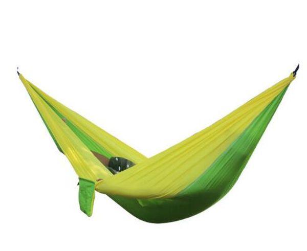 24 Color 2 People Portable Parachute Hammock Camping Survival Garden Hunting Leisure Hamac Travel Double Person Hamak