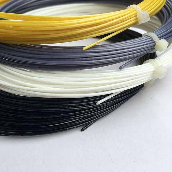 1 corde de tennis 1,25MM / 17L 12M Spinox poly raquettes de tennis string 1 corde pour 1 raquette