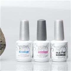 2017 48pcs Best Soak Off Nail Gel Polish For Nail Art Harmony Gelish Base Coat Foundation & Top coat matte top gelish