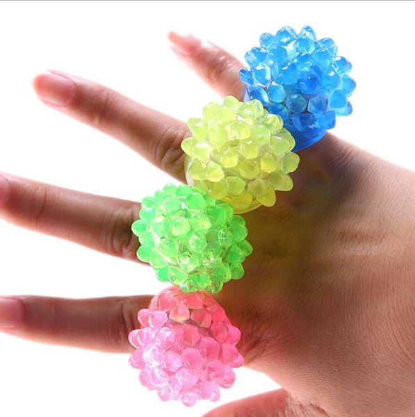 Free shipping Strawberry Glow Light Ring Torch LED Finger Ring towns Flash Beams Light Halloween Party LED Toys Wedding