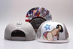 TKDK Snapback chapéus estilo dos desenhos animados Hot 2017 Nova Marca Homens e Mulheres Ajustáveis NOVOS Casquetes gorras ossos bonés de beisebol