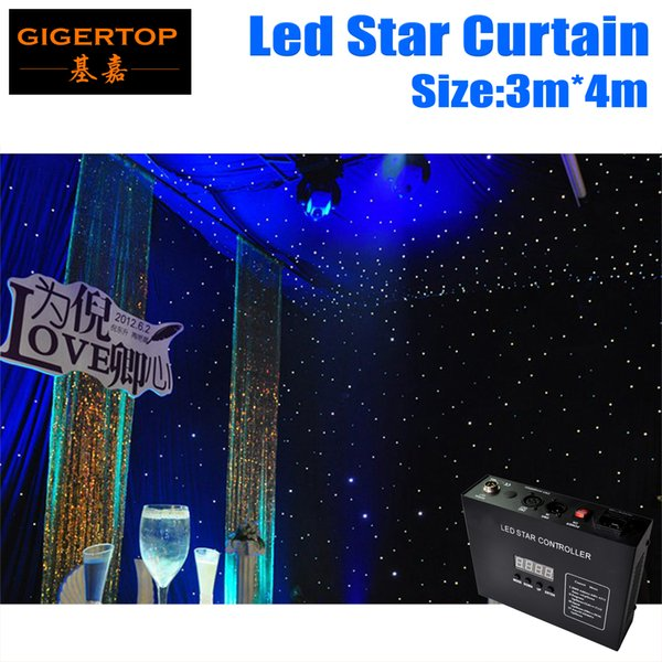 3M*4M Led Star Curtain 240pcs Color Mixing RGB/RGBW For Stage Background LED Backdrops LED Curtain Screen Flexible! Flodable! Protable!
