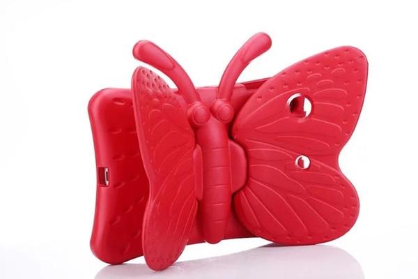 Butterfly Design Shockproof Kids Handle EVA Foam Case Cover for iPad Mini 2 3 4 IPAD AIR PRO 9.7 2017 Galaxy Tab 7.0 1pcs/lot