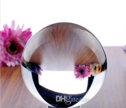 Горячо!Азиатский кварц прозрачное стекло магический кристалл исцеление шар Сфера Размер 60 мм + стенд