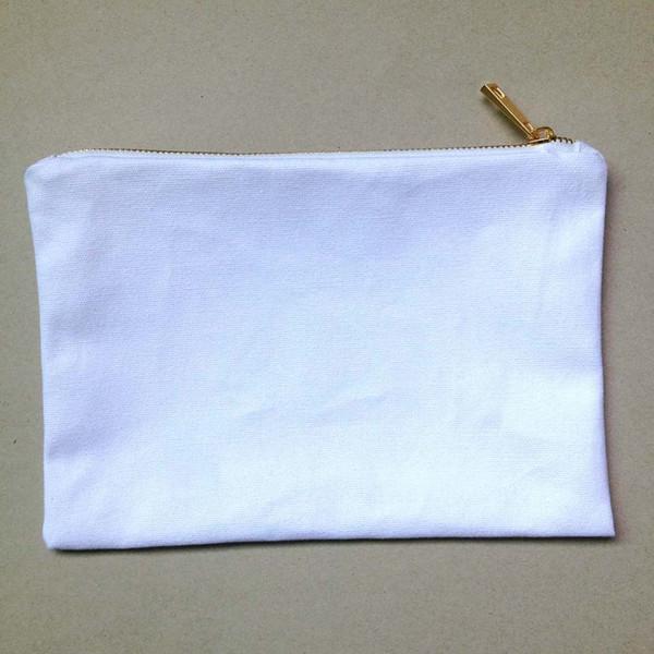 화이트 골드 지퍼가 달린 흰색