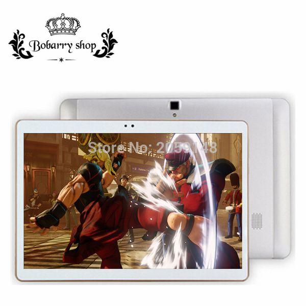 Atacado-BOBARRY 10.1 polegada Octa Núcleo 4G Lte tablet pc 1280 * 800 4 GB RAM 32 GB ROM Android 6.0 Bluetooth GPS IPS tablet 10 10.1 presentes