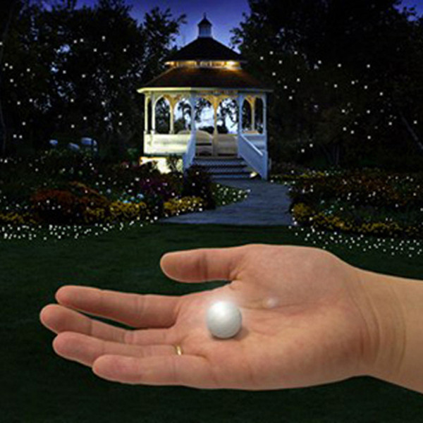 Fairy Led Pearls !!! (50Pcs / Lot) Decoración de la boda 2Cm Mini batería pequeña y colorida Led Bayas a prueba de agua luces flotantes de Led