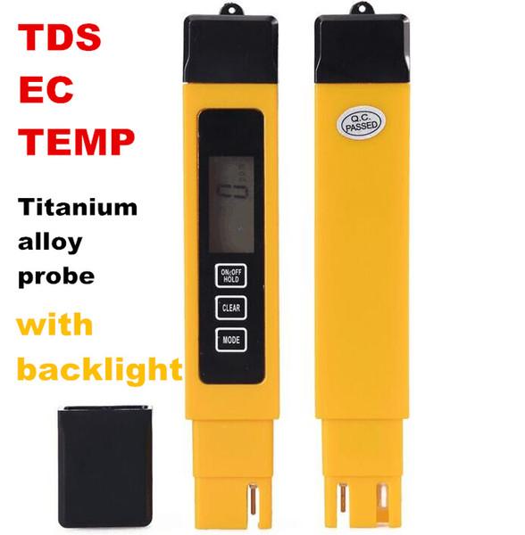 TDS-3 Meter PPM /& Temperatur Hold Funktion blau Messgerät für Wasserqualität