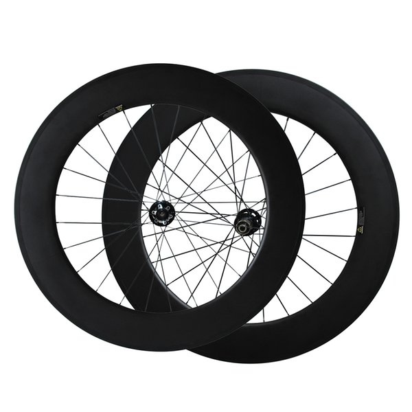 700C Full Carbon Cyclocross Wheels Thru axle or QR Disc brake carbon bike wheels 88mm Clincher cyclocross wheelset