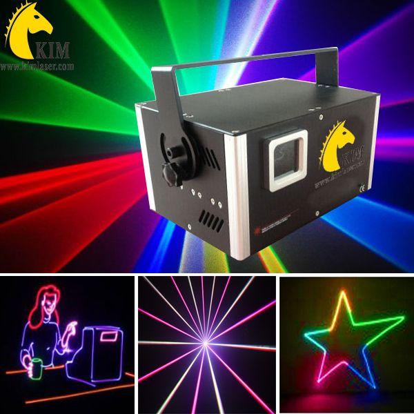 Scanner laser 5W 40Kpps RGB Laser TTL con luce laser / laser dj / lazer / logo proiettore annunci / logo dell'edificio / illuminazione per concerti / illuminazione scenica / luci da discoteca