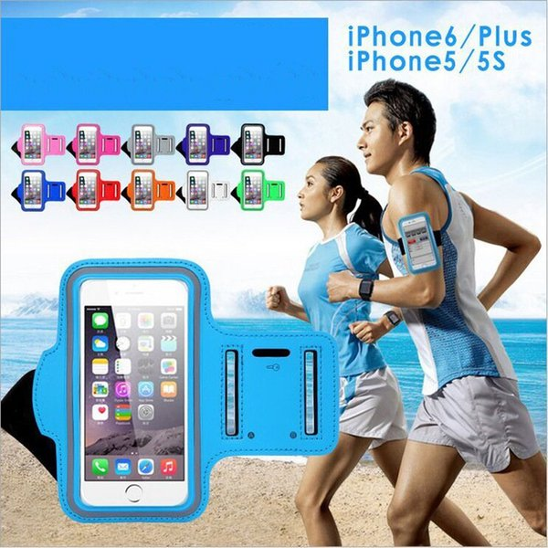 Per S8 Edge Caso Iphone 7 Impermeabile Sport In Esecuzione Bracciale Caso Armband Workout Supporto Pounch Per Iphone Cell Mobile Phone Bag Bag Band