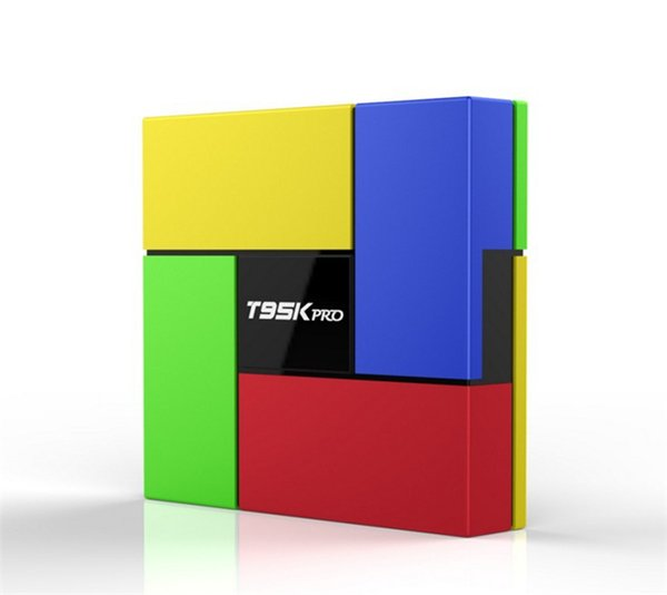 T95K PRO Amlogic S912 2GB 16GB Android TV box Octa Core cortex-A53 Dual Band WIFI Bluetooth 4.0 UHD 4K H.265 VP9 HDR 3D Media Player